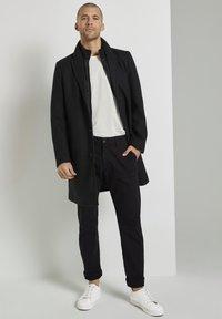 TOM TAILOR - Classic coat - dark grey wool jacket - 1