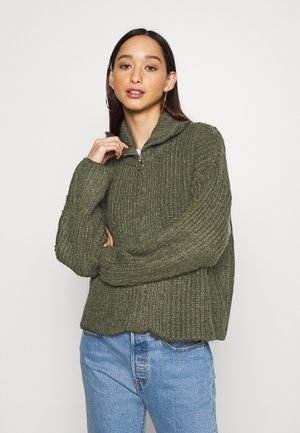 YASLENA  - Cardigan - olive night