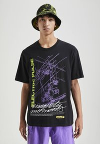 PULL&BEAR - T-shirt print - black - 0