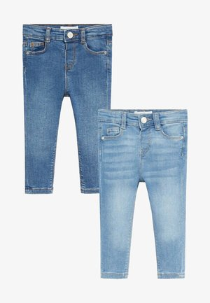 2 PACK - Slim fit jeans - bleu moyen