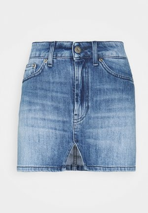 Mini skirt - blue thread