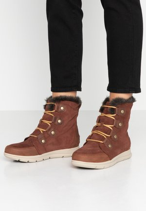 EXPLORER JOAN - Lace-up ankle boots - burro