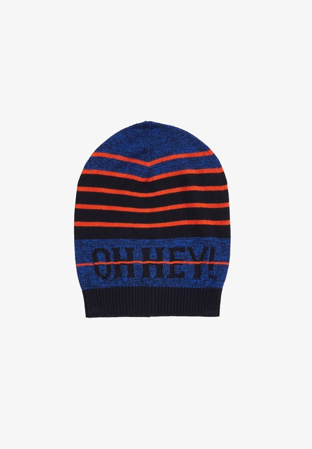 Beanie - dark blue knit