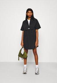 adidas Originals - DRESS - Shirt dress - black - 1