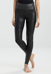 Spanx - FASHION - Legíny - black - 0
