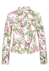 Gerry Weber - Denim jacket - weiß azalea palm druck - 3