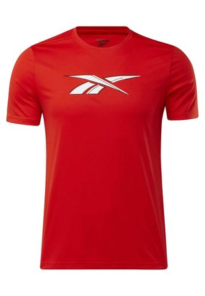 WORKOUT READY GRAPHIC T-SHIRT - Print T-shirt - red