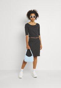 Ragwear - TAMILA  - Žerzejové šaty - dark grey - 1