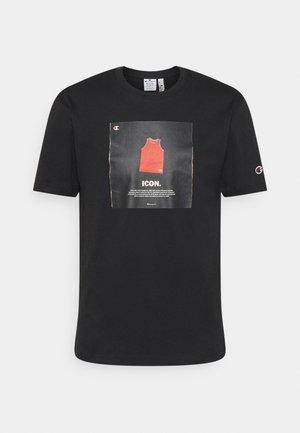 GRAPHIC SHOP CREWNECK - T-shirt imprimé - black