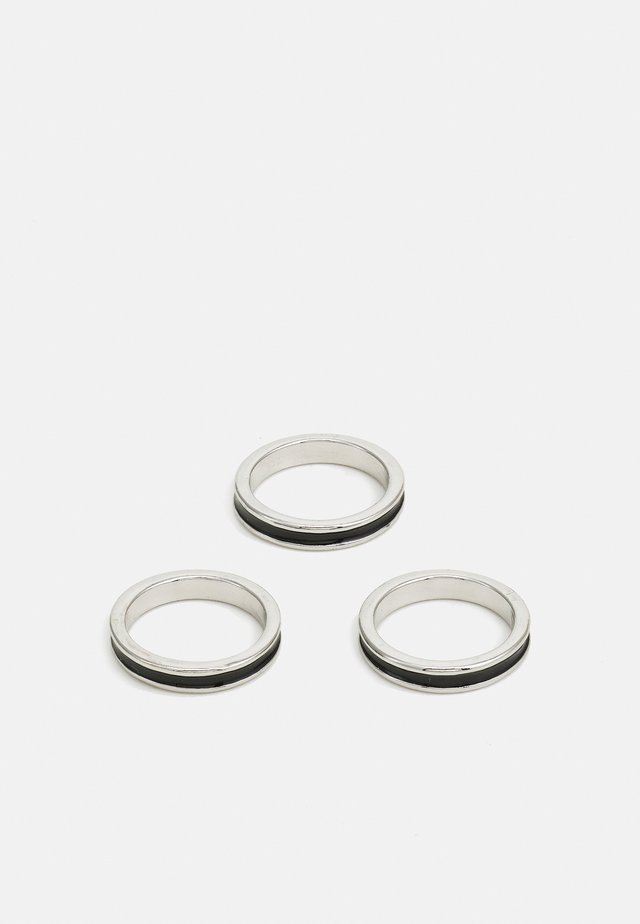 MIXED LINE 3 PACK - Ring - silver-coloured