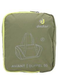 Deuter - AVIANT DUFFEL 50 - Sports bag - khaki/ivy - 6
