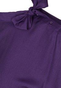 Zizzi - MIT BINDEDETAIL - T-shirt print - purple - 3