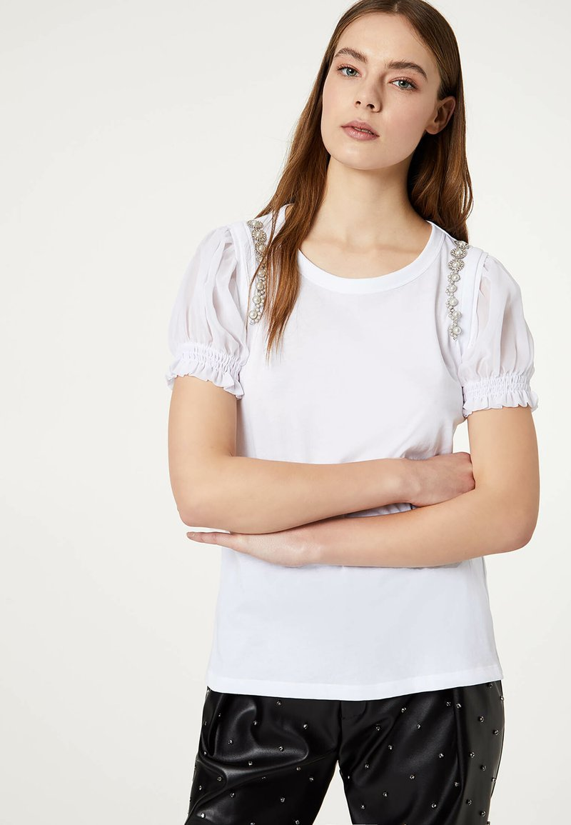 LIU JO - Camiseta estampada - white