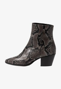 Pedro Miralles - Cowboy/biker ankle boot - asphalt - 1