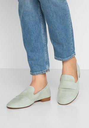 Nazouvací boty - salvia