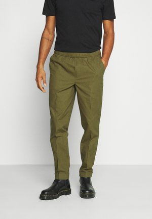 MUNK - Trousers - dark olive