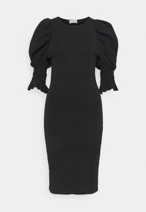DECONDINA - Robe en jersey - black