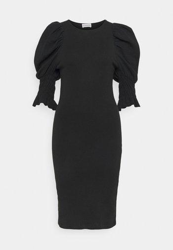 DECONDINA - Žerzejové šaty - black
