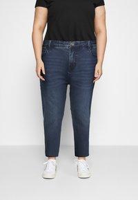 Zizzi - JAUSTYN - Slim fit jeans - blue denim - 0