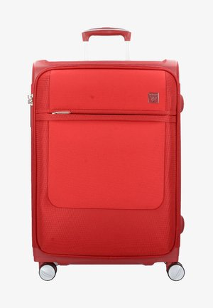 NEW YORK  - Wheeled suitcase - red