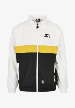 Summer jacket - white/black/golden