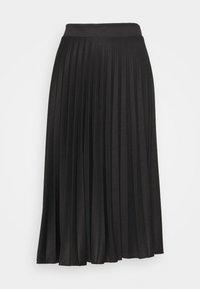 Dorothy Perkins Tall - PLEAT SKIRT - A-line skirt - black - 3