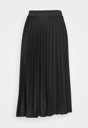 PLEAT SKIRT - A-line skirt - black