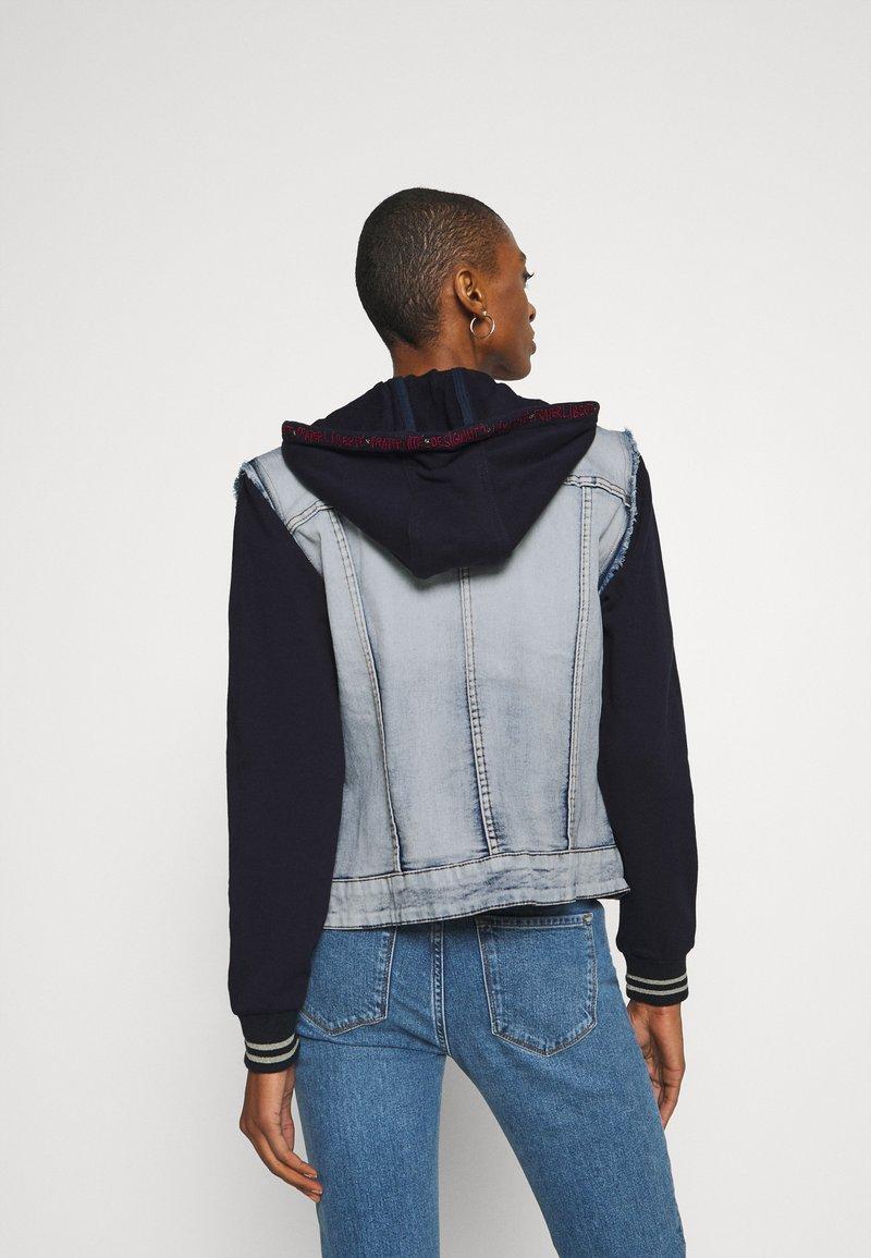 Taille Fabricant: 44 Jeans Bleach 5058 Femme Desigual Chaq/_whaii Manteau 46 Bleu