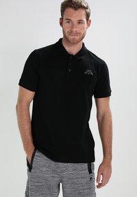 Kappa - PELEOT - Koszulka polo - black - 0