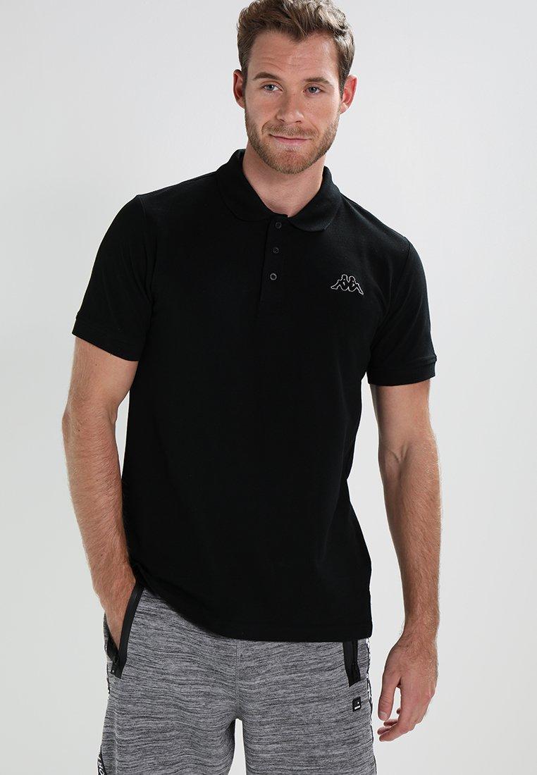 Kappa - PELEOT - Koszulka polo - black