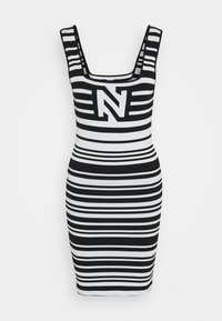 NIKKIE - JEAN DRESS - Jumper dress - white/black - 5