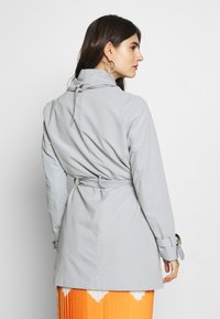 Esprit Collection - FEMININE COAT - Krótki płaszcz - grey blue - 2