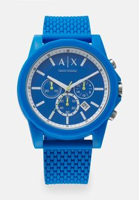 Armani Exchange - OUTERBANKS - Chronograph watch - blue - 0