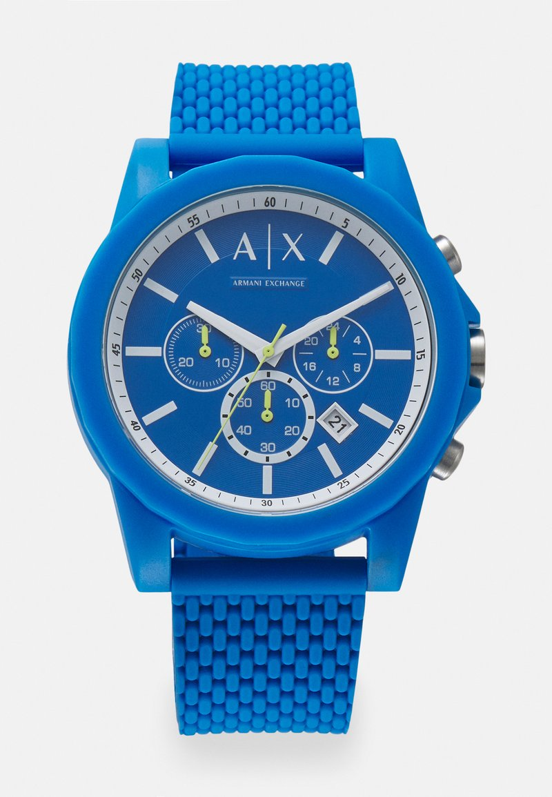 Armani Exchange - OUTERBANKS - Chronograph watch - blue