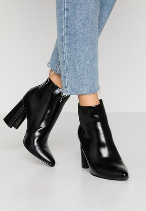ONLBRODIE  - High heeled ankle boots - black