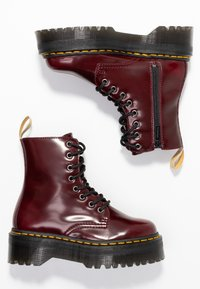 Dr. Martens - VEGAN JADON II - Lace-up ankle boots - cherry red - 3