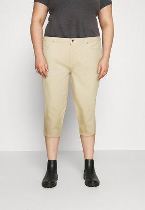 Straight leg jeans - blazed beige