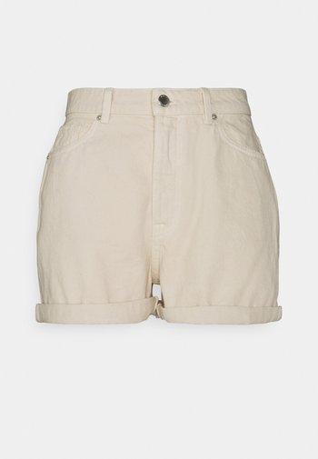 ONLBAY MOM - Denim shorts - whitecap gray