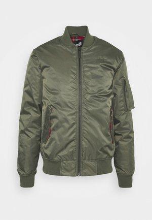 SCHOTT X HARRINGTON  - Bomber Jacket - olive