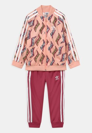 ANIMAL PRINT SUPERSTAR SET - Tracksuit - glow pink/multicolor/wild pink