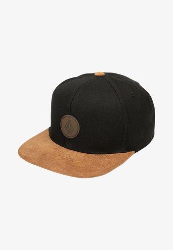 QUARTER FABRIC - Cap - vintage black