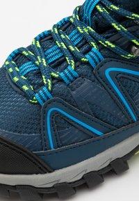 CMP - KIDS SHEDIR MID SHOE WP UNISEX - Hiking shoes - blue ink/river - 5
