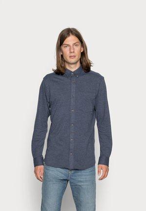 JORAARON  - Shirt - navy blazer/detail/melange/ slim