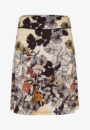 TROPICAL PRINT - A-line skirt - mehrfarbig