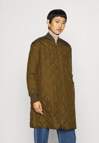 ARKET - JACKET - Krátký kabát - brown medium dusty - 0