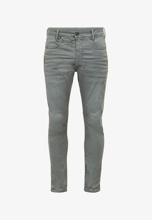 D-STAQ 3D SLIM - Slim fit jeans - lt building gd
