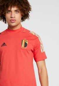 adidas Performance - BELGIUM RBFA - Landslagströjor - glory red - 4