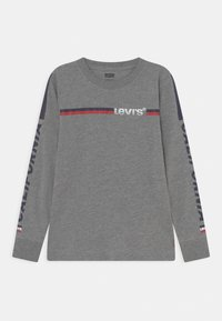 Levi's® - LONG SLEEVE GRAPHIC  - Pitkähihainen paita - dark grey heather - 0