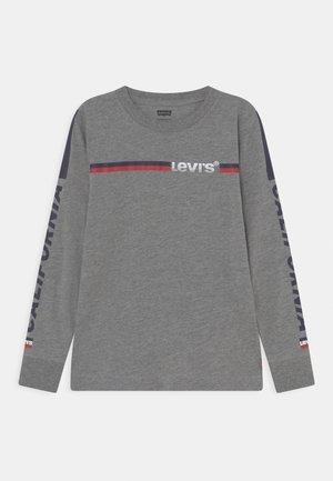 LONG SLEEVE GRAPHIC  - Pitkähihainen paita - dark grey heather