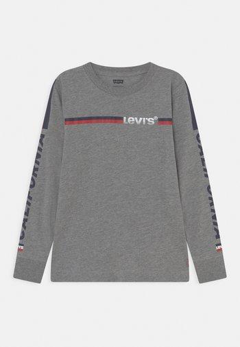LONG SLEEVE GRAPHIC  - Maglietta a manica lunga - dark grey heather